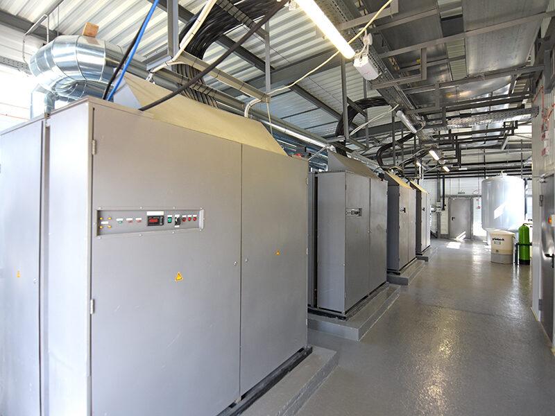 Будівництво резервної електричної котельні для забезпечення теплопостачання Нового Безпечного Конфайнмента (НБК) на ДСП «Чорнобильська АЕС»