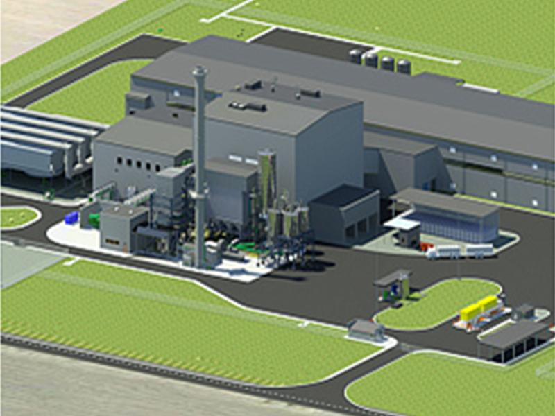 Будівництво біопаливної електростанції, величина максимального розрахункового навантаження 46 МВт, Хмельницька область